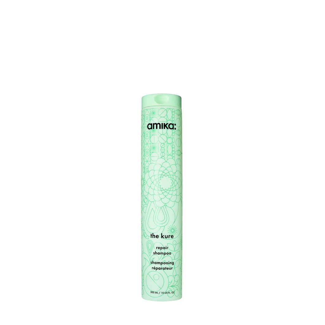amika the kure repair shampoo beauty art mexico