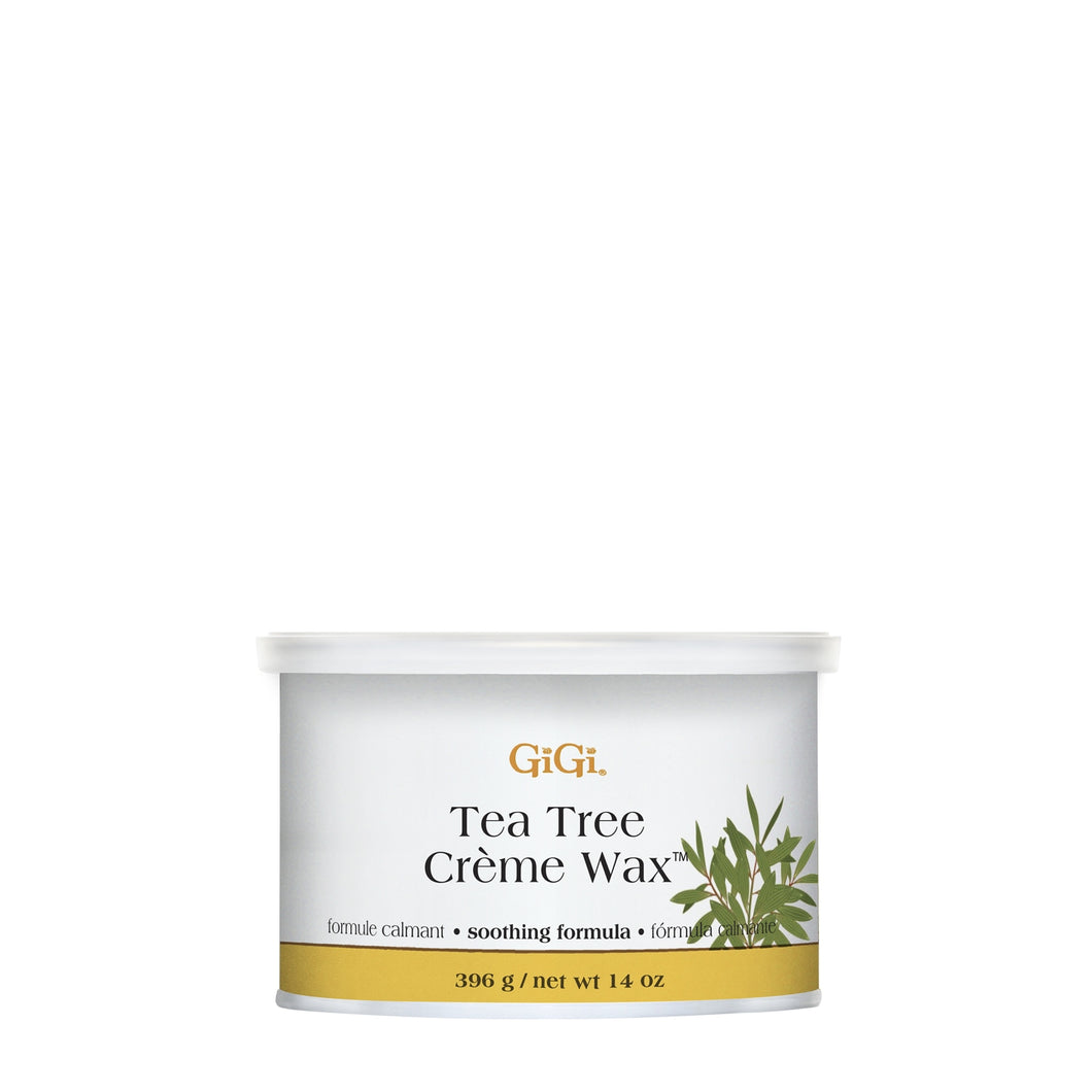 gigi tea tree creme wax beauty art mexico