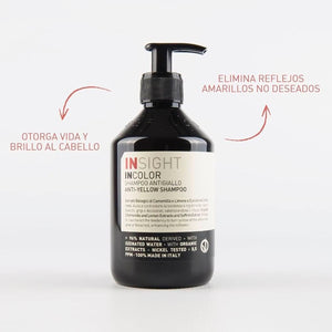 insight anti yellow shampoo beauty art mexico