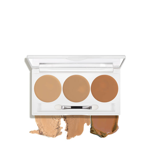 kryolan dermacolor camuflaje trio set beauty art mexico