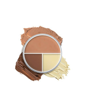 kryolan ultra foundation trio special filling beauty art mexico