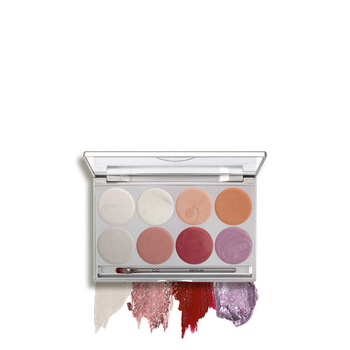 kryolan illusion paleta de 8 colores sensation beauty art mexico