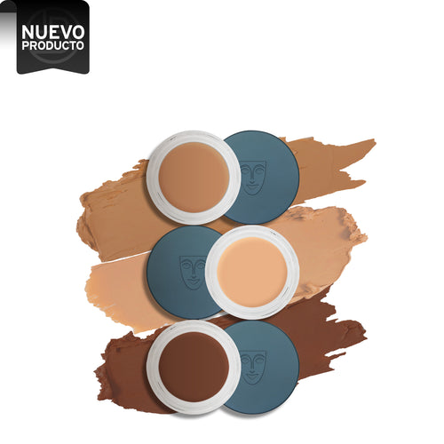 Kryolan digital complexion cream foundation beauty art mexico