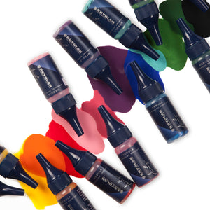 kryolan nebula vivid set 6 colors beauty art mexico