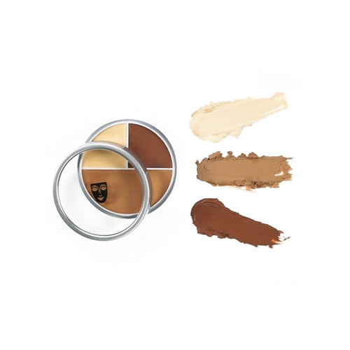 kryolan ultra foundation trio beauty art mexico