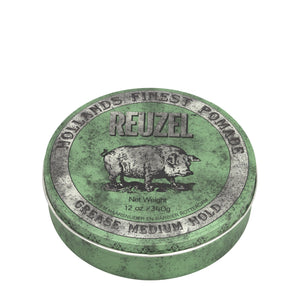 reuzel green pomade grease beauty art mexico