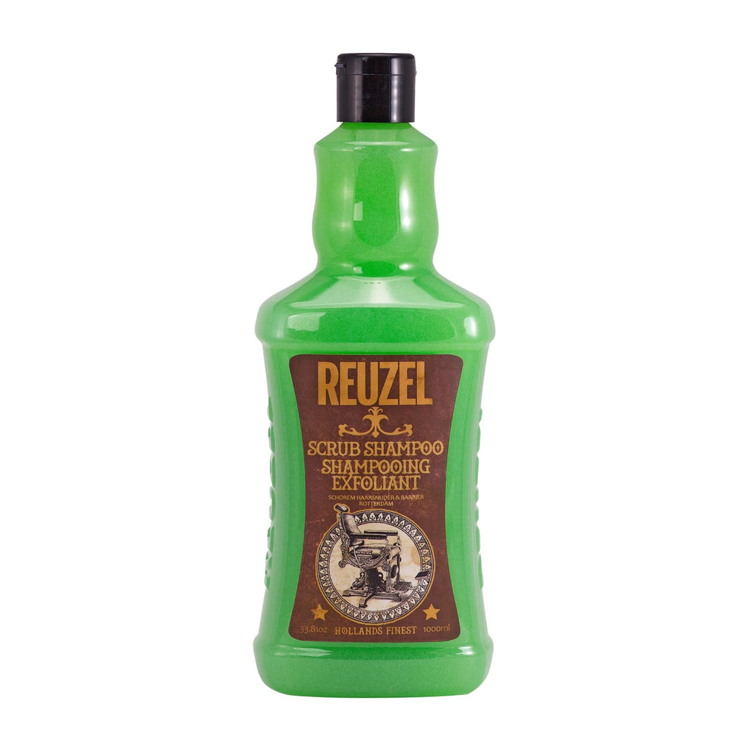 reuzel scrub shampoo beauty art mexico