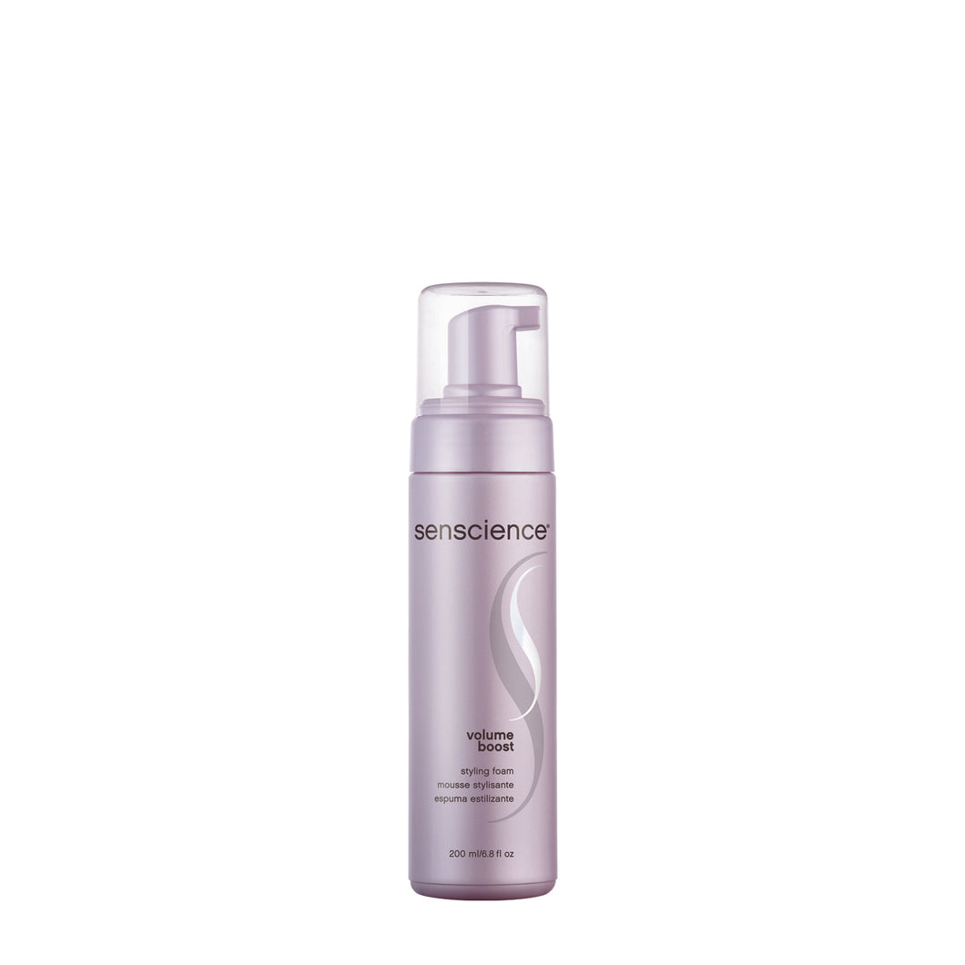 senscience volume boost styling foam beauty art mexico