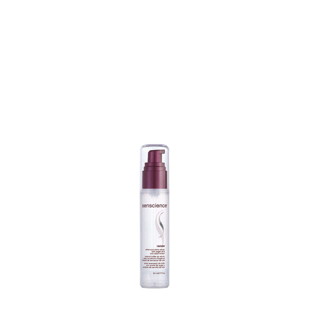 senscience renew shine serum beauty art mexico