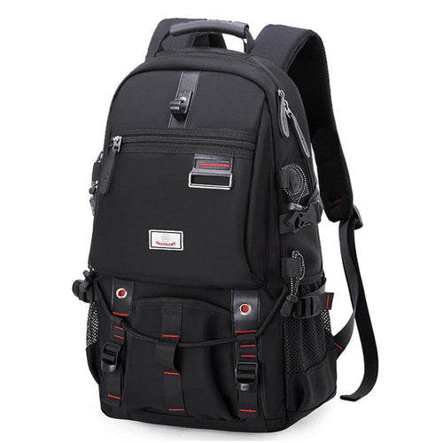 Large capacity Men's Laptop backpack Backpack Black