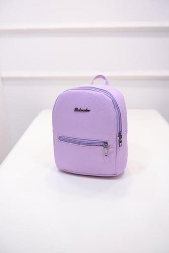 Candy color small Women backpack Backpack Purple