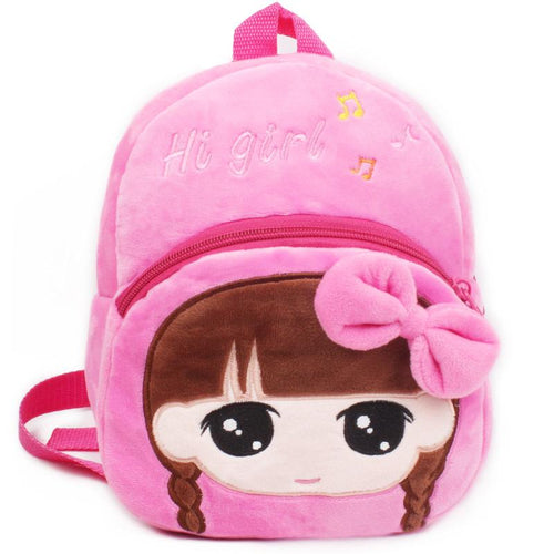 Baby small backpack little cartoon Backpack Pink