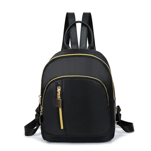 New shelves lady fashion leisure backpack Backpack Black
