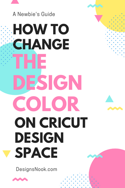 [Cricut] How to change the design color on your Cricut Design Space