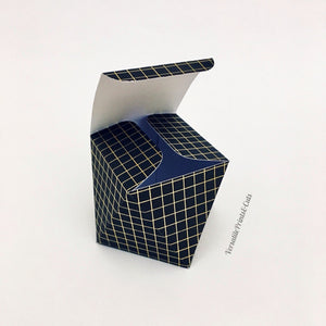 Geometric Box Template - SVG PDF