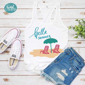 Hello Summer - SVG