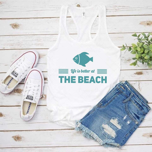 Life is better at the beach - SVG