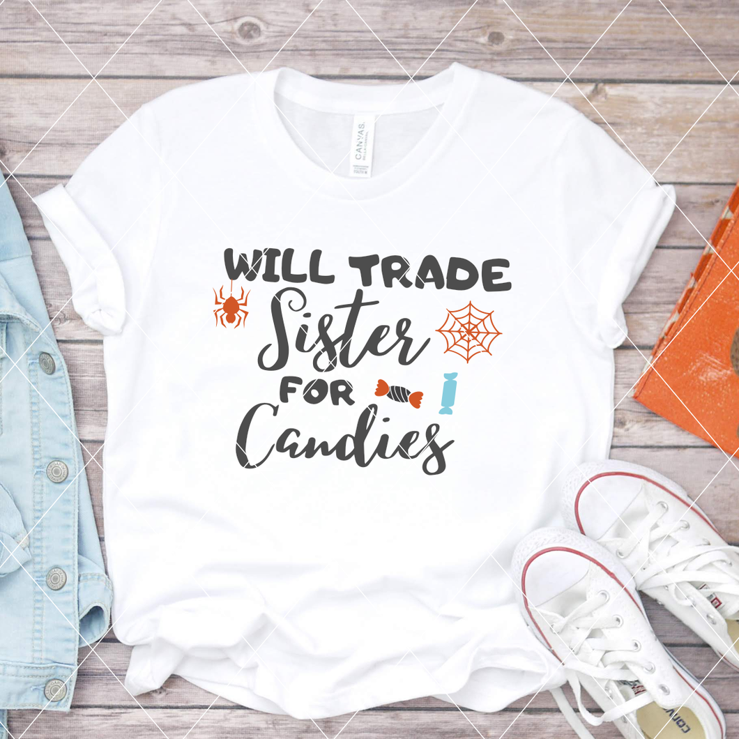 Will trade sister for candies - SVG