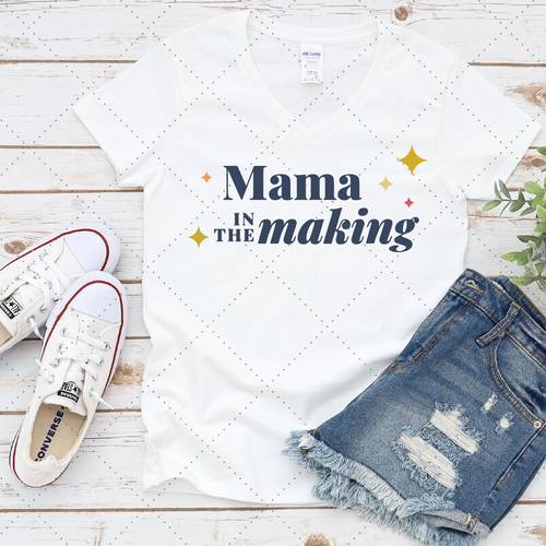 Free - Mama in the making SVG