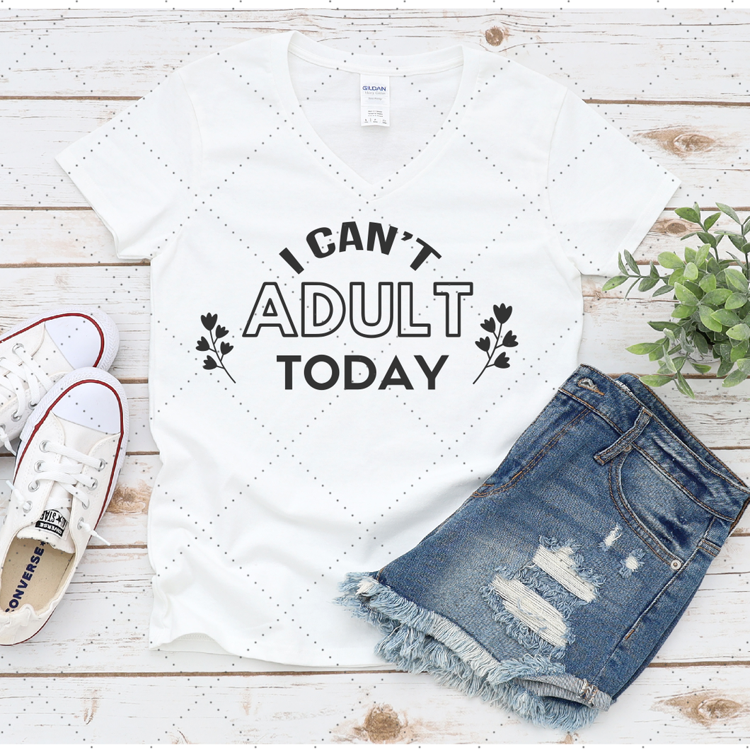 I can't adult today - SVG