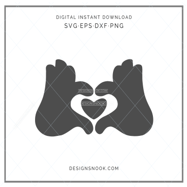 Love heart - SVG