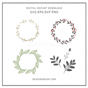 Wreath Bundle - SVG