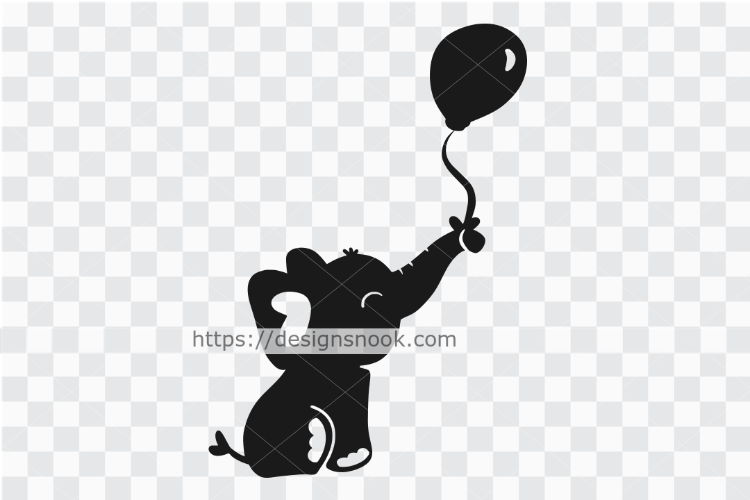 Baby elephant svg, cute elephant svg, elephant dxf, happy elephant, playful elephant, adorable baby clipart stencil decal sticker transfer vector 1290