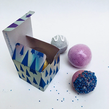 Load image into Gallery viewer, Bauble box, bath bomb packaging - SVG PDF