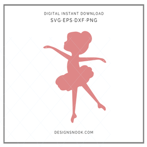 Little Ballerina - SVG