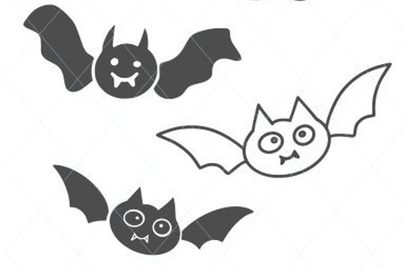 Cute bats svg, flying bats svg, bats cut file, bat vector, bat cut file, bat clipart, bat clip art, svg digital instant download D2
