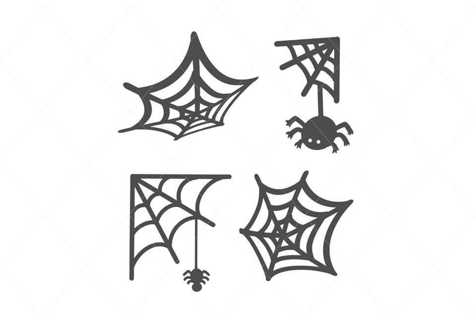 Cute Spider Vector SVG Cut File Clipart Instant Download Sublimation Cricut Designs SVG PNG Digital Graphic Image Happy Kids Halloween