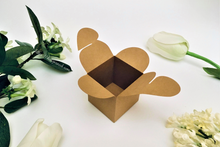 Load image into Gallery viewer, Heart Shaped Cube Box Template - SVG, DXF, PDF File