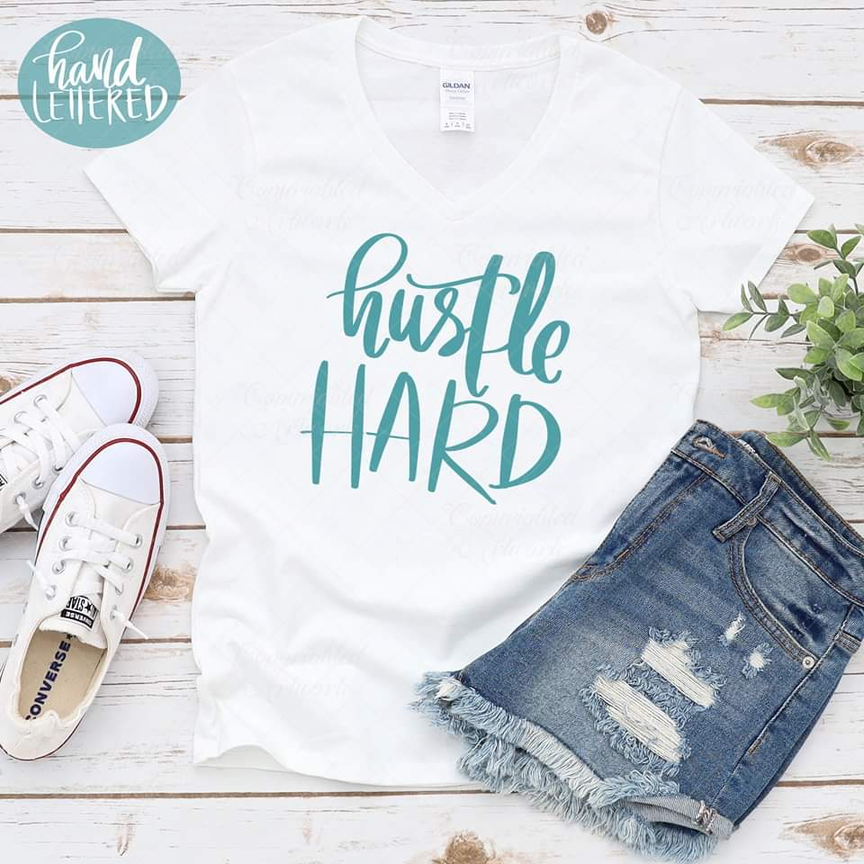 Hustle hard - SVG
