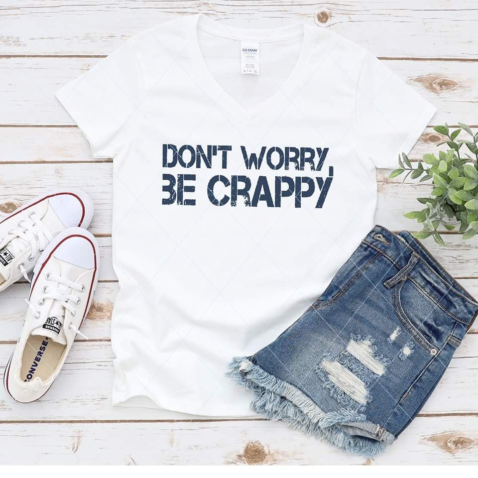 Don't worry, be crappy - SVG