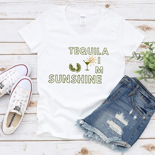 Tequila, lime, and sunshine - SVG
