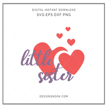Load image into Gallery viewer, Little Sister - SVG