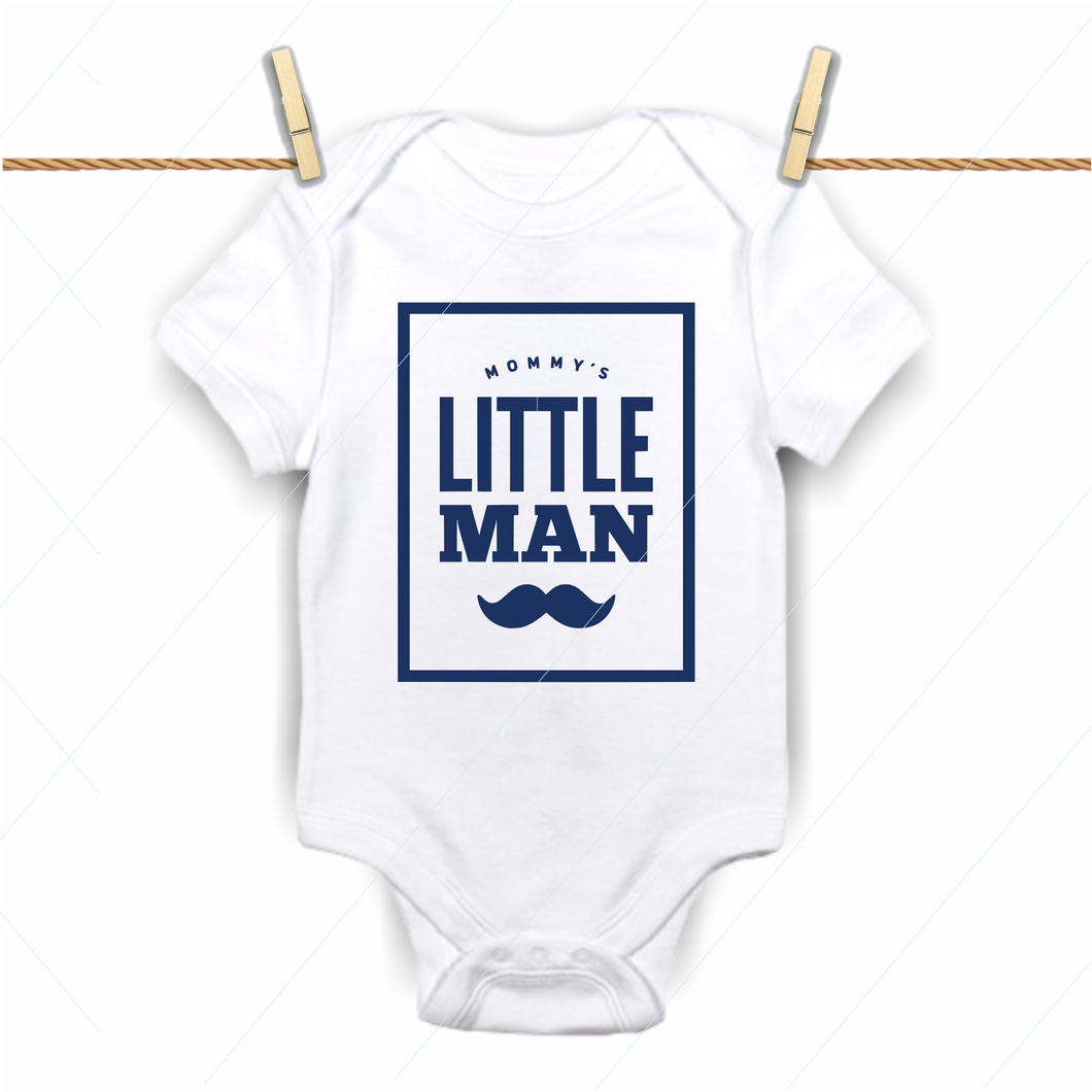 Mommy's little man - SVG