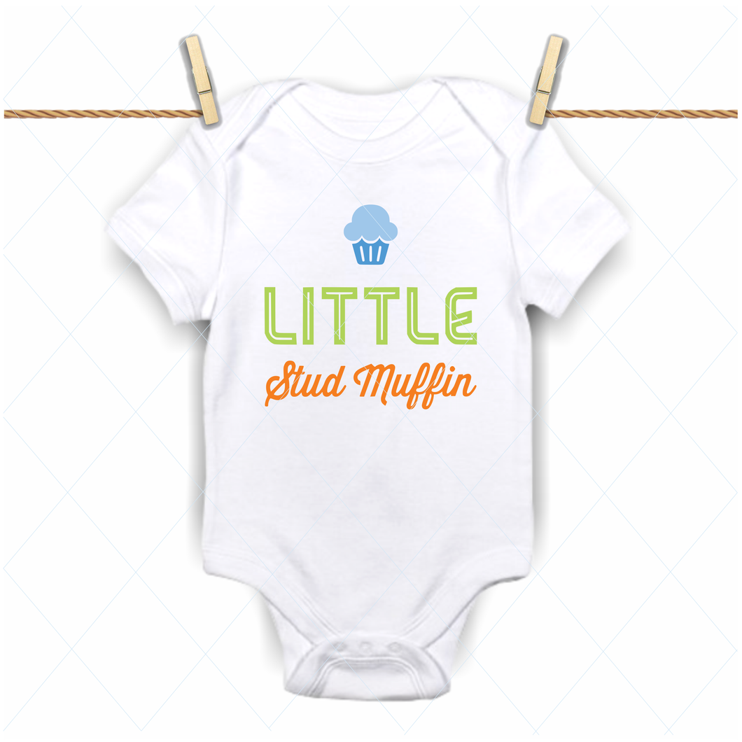 Little stud muffin - SVG