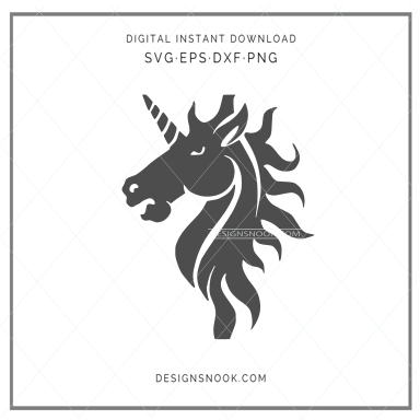 Unicorn - SVG