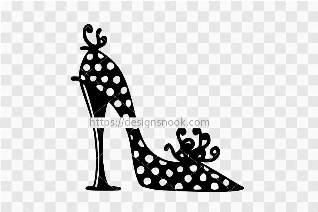 Shoes svg, Shoes cut file, high heels svg, high heels cut file, shoes vector, stiletto svg , shoe decal, woman shoes, show sticker 1287