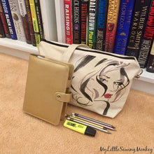 Load image into Gallery viewer, Free Sewing Pattern - Canvas Crossbody Bag with Transferred Image