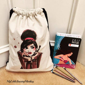PDF Sewing Pattern - Quintos String Backpack