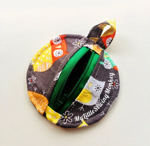PDF Sewing Pattern - Naples Zippered Coin Purse, Sewing DIY, Sewing Tutorial, Sewing how-to