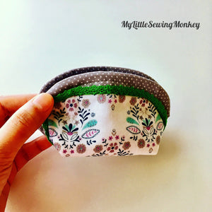 Coin Pouch - PDF Sewing Pattern