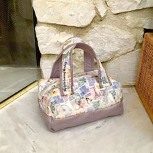 Load image into Gallery viewer, PDF Sewing Pattern - Bordeaux Mini Duffel Bag, Sewing DIY, Sewing Tutorial, Sewing how-to