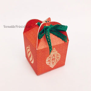 Ornament box template - SVG PDF