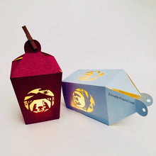 Load image into Gallery viewer, 3D Nativity Lantern - SVG PDF