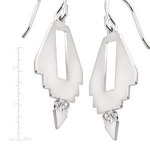Adobe Steps Drop Earrings