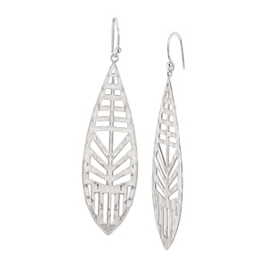 Cut-Out Drop Earrings