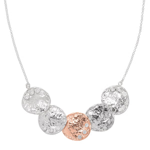 Dotted Discs Necklace